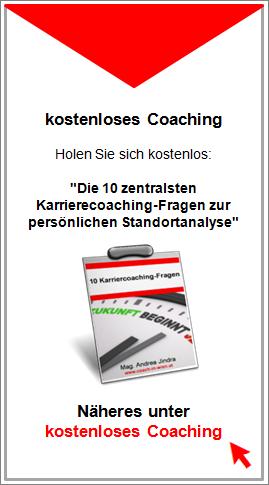 Kostenloses Coaching - Die 10 zentralsten Karrierecoaching-Fragen zur persönlichen Standortanalyse